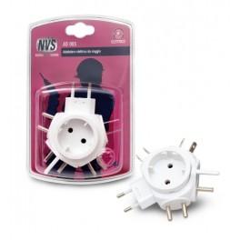 Travel adapter plug multistandard
