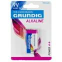 Batteria alcalina 6LR61 9V 500 mAh Grundig