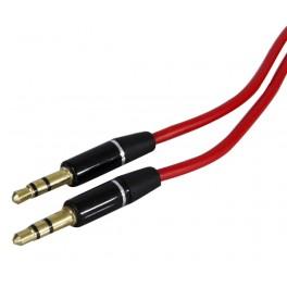 "Cavo audio ""hi-quality"" - 1 jack 3,5 mm stereo / 1 jack 3,5 mm stereo - l. 1,5 mt"