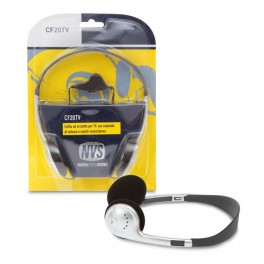 The-head headset with volume control for tv
