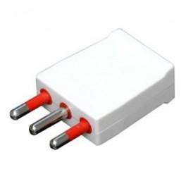 Cable plug 2p + t 16.