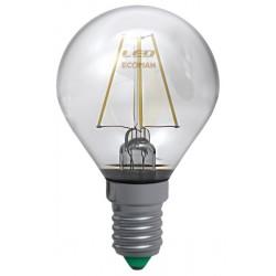 Lampada Led Filamento 4W E 14 Luce Calda 3000 K
