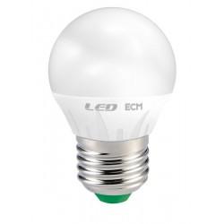 Lampada Led Sfera 6W E 27 Luce Calda 3000 K