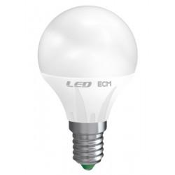 Lampada Led Sfera 6W E 14 Luce Calda 3000 K