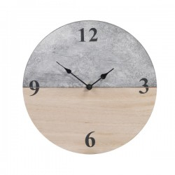 Orologio da parete in legno 30 cm