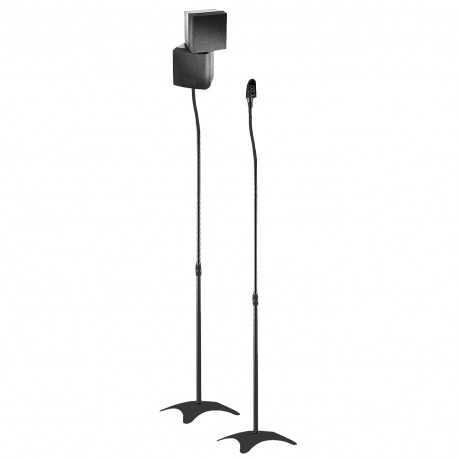 Couple floor stands for loudspeakers
