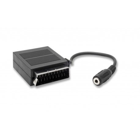 Scart adapter - 3.5 mm stereo jack