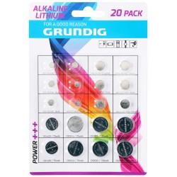 20x pila batteria a bottone CR1620 CR2016 CR2025 CR2032 AG1 3 4 5 8 10 12 13