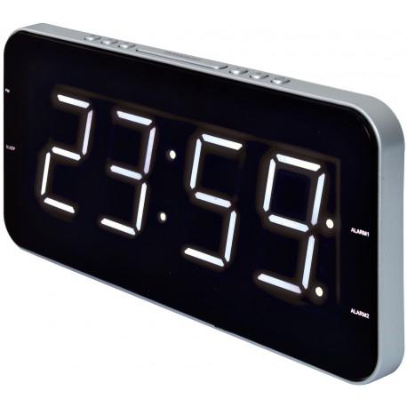 Radiosveglia con grande display e doppio allarme CLR-2615 Roadstar