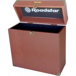 Box contenitore per 35 dischi al vinile vintage Roadstar BXTT1