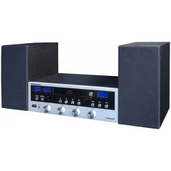Sistema Hi-Fi Stereo Bluetooth CD MP3 USB player HIF-6970BT