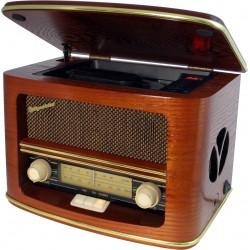 Radio Old Style Vintage MW / FM / CD / MP3
