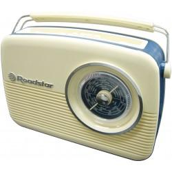 Radio FM Retrò Vintage portatile Roadstar TRA-1957/CR