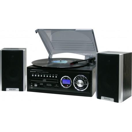 Sistema Stereo Hi-Fi Radio FM CD LP Dischi USB SD MP3 HIF-8888TUMPN