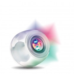 LAMPADA LED MULTICOLOURS & SOUNDS