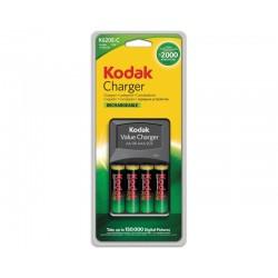Caricabatterie Kodak K620E+4 stilo AA 2100 mAh