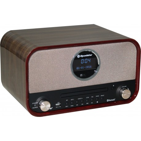 Radio FM DAB+ CD MP3 registra su USB Bluetooth HRA-1782D+BT Roadstar