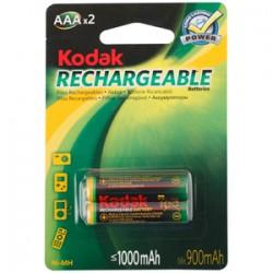 Batterie pile ricaricabili miniStilo AAA NiMh 1000 mAh Kodak K3AHR-2