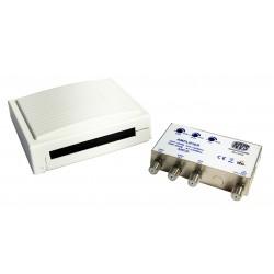 Amplificatore Miscelatore da palo Antenna da tetto per segnali TV/DVB