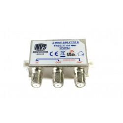 Splitter separatore di segnale TV DVB 2 uscite