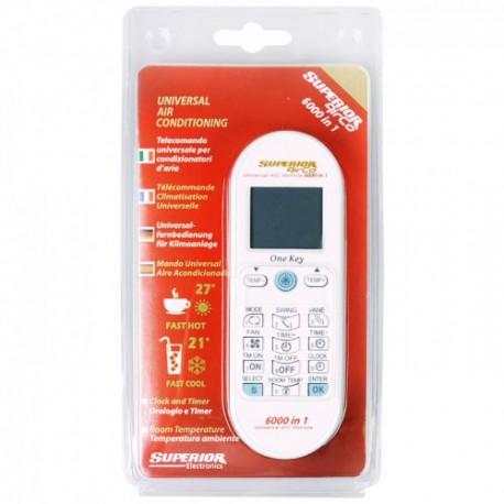 Telecomando condizionatori universale 6000 codici Superior SUP031