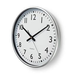 Orologio da parete bianco numeri neri diametro 38 cm
