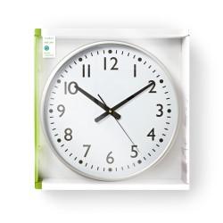Orologio da parete in legno Targhe diametro 30 cm