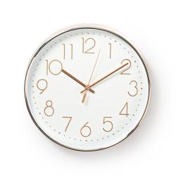Orologio da parete in legno Ponte Brooklyn diametro 30 cm