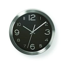 Orologio da parete bianco numeri oro diametro 30 cm