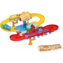 Trenino elettrico Eddy Toys molto divertente 36 pz
