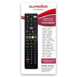 Telecomando universale per tutti i TV Telefunken Superior