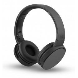 Cuffia ad archetto Bluetooth con vivavoce per smartphone pc nera