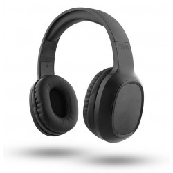 Cuffia ad archetto con microfono per smartphone tablet pc nera