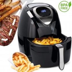 Friggitrice ad aria senza olio e grassi 1400W 3,2 LT Cuisinier Deluxe