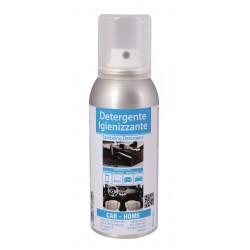Spray igienizzante per tessuti superfici auto aria condizionata smartphone
