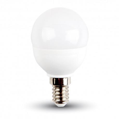 Lampadina led sfera 5.5W calda 2700K E14 VT-1880