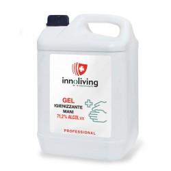 Gel liquido spray pulente e igienizzante per le mani 60 ml