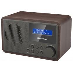 Radio portatile DAB + FM a pile e rete Roadstar TRA-886D+BK