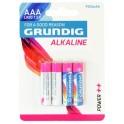 51668 4 Pile Batterie ministilo AAA alcaline 950 mAh Grundig