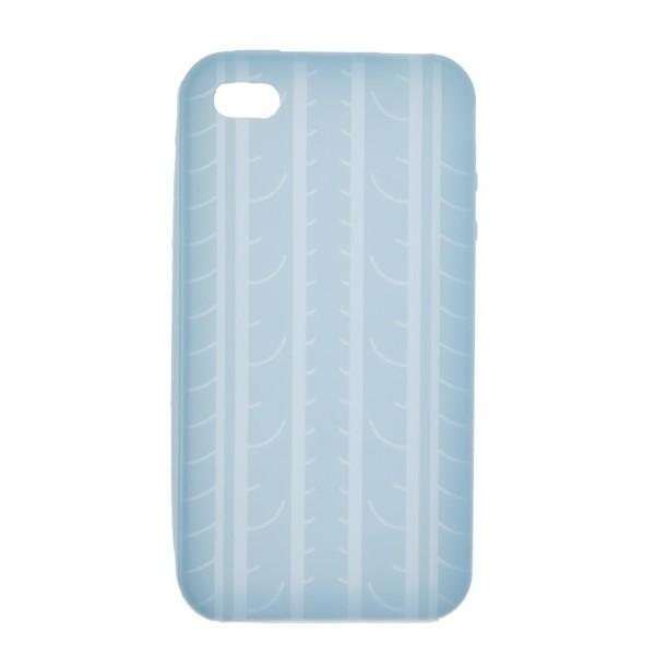 Custodia Cover Case In Plastica Per Iphone 4 /4S Blu